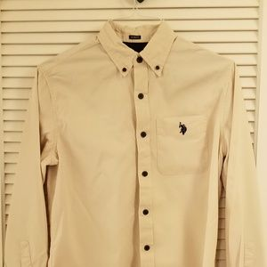 Men's Ralph Lauren Western Long Sleeve Shirt Slim